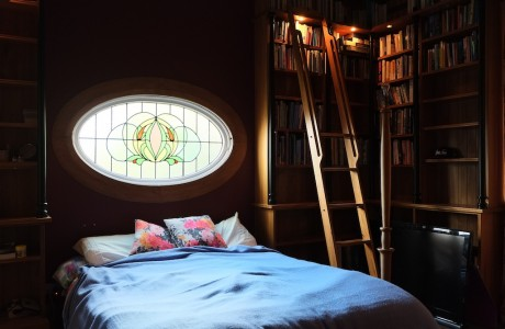 The romantic secret bedroom